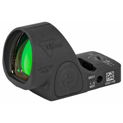 TRIJICON SRO® RED DOT SIGHT: 1 MOA RED DOT, ADJUSTABLE LED