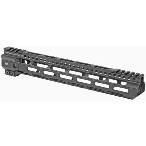 MIDWEST INDUSTRIES MI ULTRA LIGHTWEIGHT ONE PIECE FREE FLOAT HANDGUARD, M-LOK(TM) COMPATIBLE - 12.625""