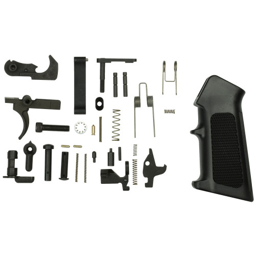 CMMG INC LOWER PARTS KIT, AR15 W/AMBI SELECTOR