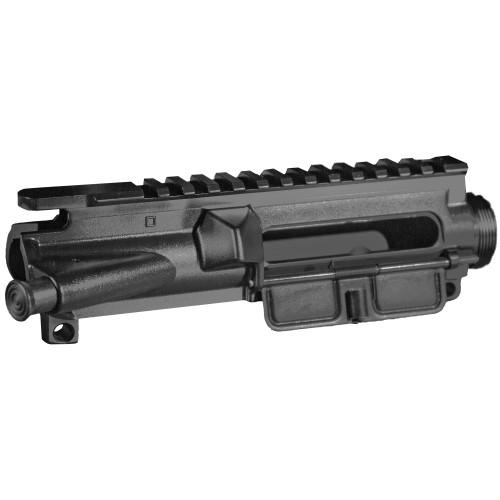 BOOTLEG INC. AR-15 MIL-SPEC ENHANCED ASSEMBLED UPPER RECEIVER- BLACK