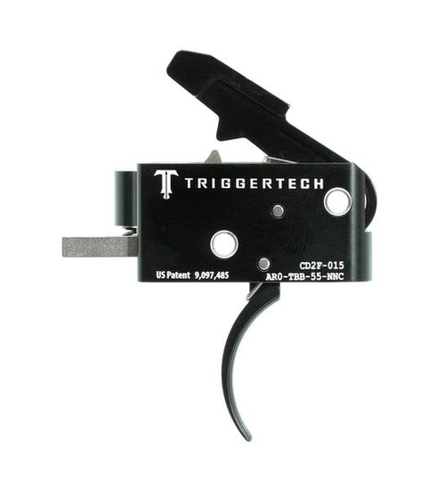 TRIGGERTECH COMBAT TRIGGER (5.5 LBS FIXED) - AR15 CURVED