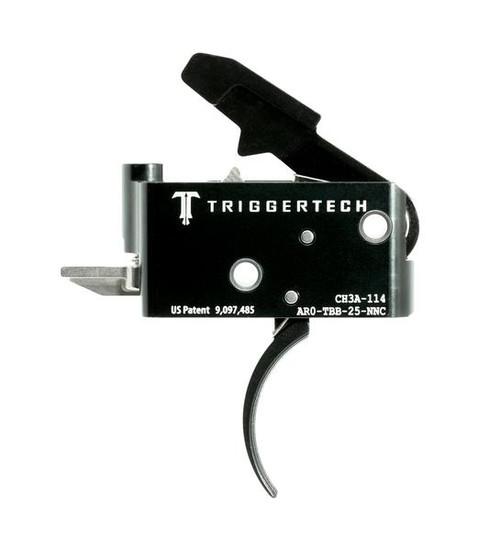 TRIGGERTECH ADAPTABLE TRIGGER (2.5-5.0 LBS ADJ) - AR15 PVD CURVED