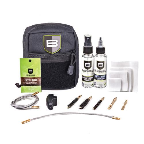 BREAKTHROUGH CLEAN QWIC-MIL PULL THROUGH CLEANING KIT - BLACK