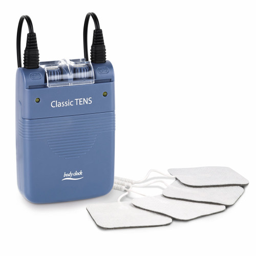 Classic TENS machine with electrode pads