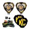 KC HiLiTES FLEX ERA 3 LED Light Spot Beam Pair Pack Sys