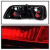 Spyder For Honda Civic 2Dr 1996-2000 Crystal Tail Lights Red Smoke | ALT-YD-HC96-2D-CRY-RS (TLX-spy5076557-CL360A70)