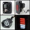 Spyder Jeep Wrangler 07-15 LED Tail Lights Smoke ALT-YD-JWA07-LED-SM