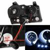 Spyder Chrysler 300 05-08 Projector Headlights LED Halo LED Blk (Not Included) PRO-YD-C305-HL-BK