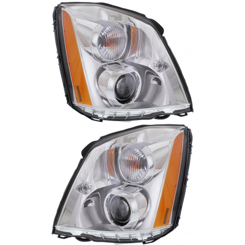 CarLights360: For Cadillac DTS Tail Light 2006-2011 Pair Driver and Passenger Side | GM2818181 + GM2819181