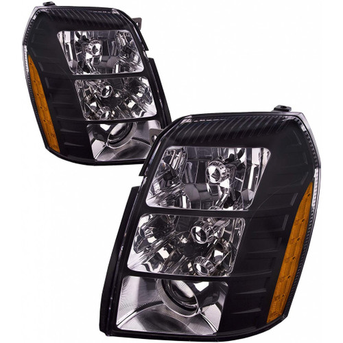 For Cadillac Escalade Headlight 2007 2008 2009 2010 2011 2012 2013 2014 Driver Left And Passenger Right Side Driver (CLX-M1-331-11B3PXUSH2)