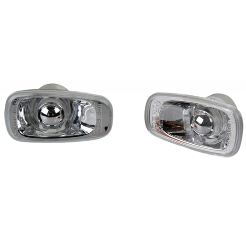 For Scion xA 2004-2006 Side Repeater Lamp Clear Lens Set Pair Driver and Passenger Side SC2536100