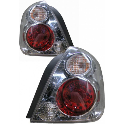 For Nissan Altima 2002-2006 Tail Light LED G.M Red/White Lens Driver and Passenger Side