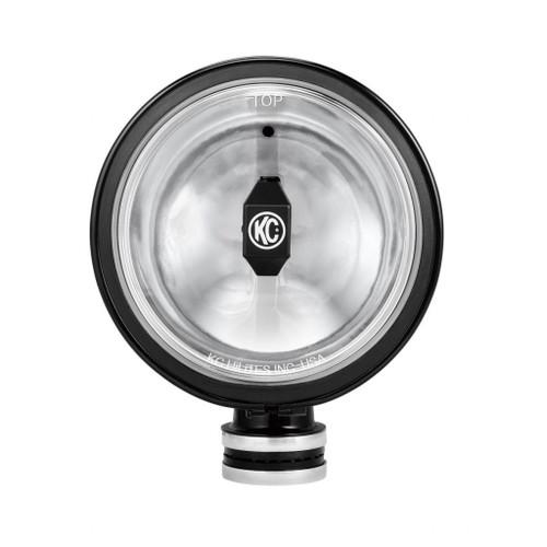 KC HiLiTES 6in. Daylighter Gravity G6 LED Light 20w SAE/ECE Driving Beam (Single) - Black SS