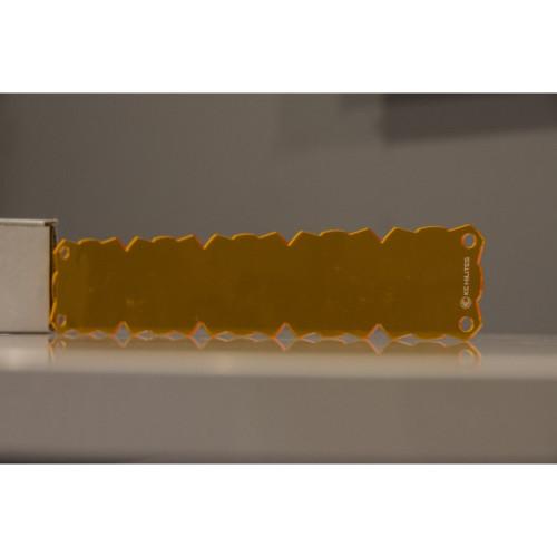 KC HiLiTES Shield for 20in. FLEX LED Light Bar (Set) - Amber