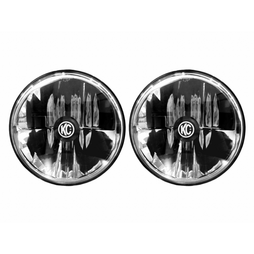 KC HiLiTES 07-18 Jeep JK (Not for Rubicon/Sahara) Gravity LED DOT Headlight (Pair Pack System) 7in.