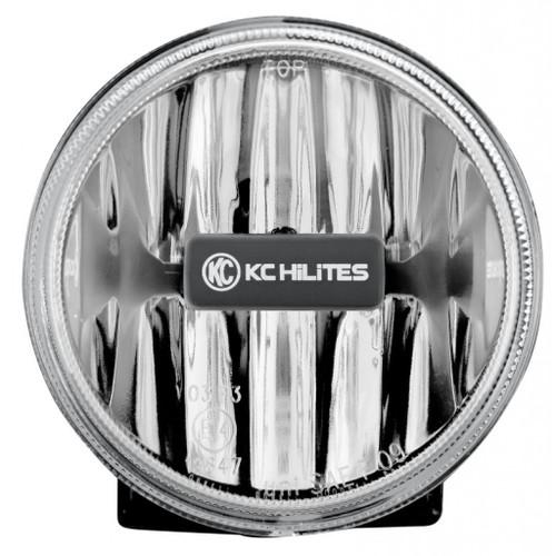 KC HiLiTES 4in. Gravity G4 LED Light 10w SAE/ECE Clear Fog Beam (Single)