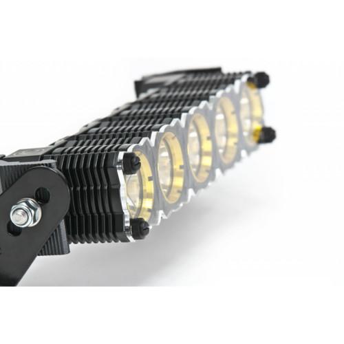 KC HiLiTES Shield for 40in. FLEX LED Light Bar (Set) - Clear