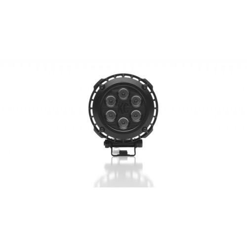 KC HiLiTES LZR 4in. Round LED Light 24w Spot Beam (Single) - Blck