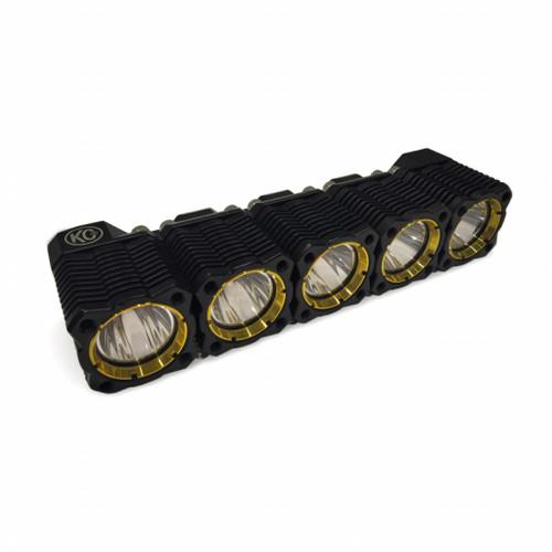 KC HiLiTES FLEX 10in. Array LED Light 50w Spot Beam (Add-On ONLY / Req. 12724 Linker Kit) - Single