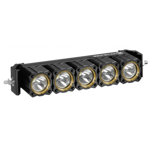 KC HiLiTES FLEX 10in. Array LED Light Bar System 50w Combo Beam (Spot/Spread) w/Wiring Harness