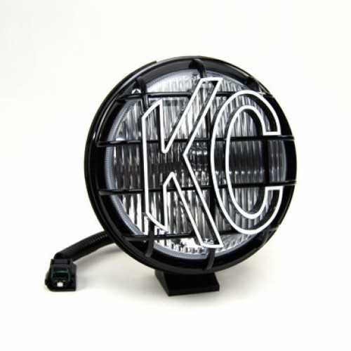 KC HiLiTES Apollo Pro 05-06 Jeep TJ Replacement 6in. Halogen Fog Light 55w (Single) - Black