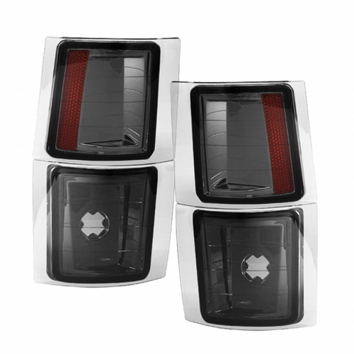 Xtune Chevy Suburban 94-98 4 pcs Corner Lights Smoked CCL-JH-CCK88-SM-AM