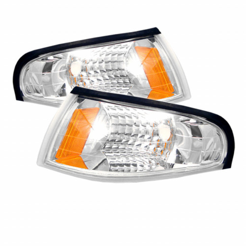 Xtune Ford MUStang 94-98 Amber Corner Lights Euro CCL-FM94-E-AM