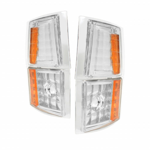 Xtune Chevy C/K Pickup 94-98 4pcs Amber Corner Lights Euro CCL-CCK88-E-AM
