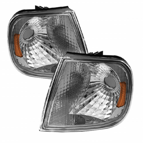 Xtune Ford F150 97-03 Amber Corner Lights Euro CCL-FF15097-E-AM