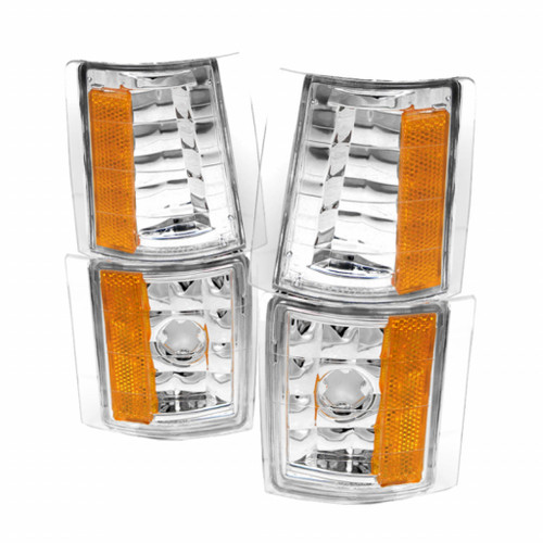 Xtune GMC C/K 94-98 4pcs Amber Corner Lights Euro CCL-GCK88-E-AM