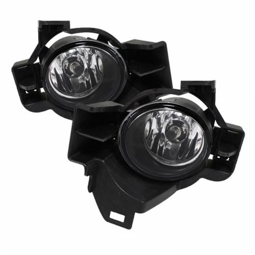 Spyder Nissan Altima 10-12 4Dr OEM Fog Lights w/Switch Clear FL-NA2010-4D-C