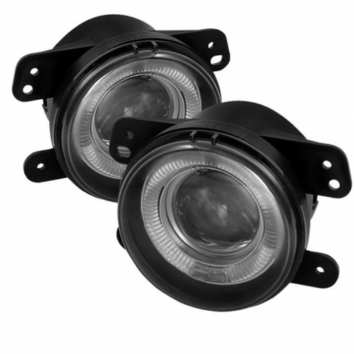 Spyder Dodge Magnum 05-08/Journey 09-10 Projector Fog Lights w/Switch Smoke FL-P-DM05-HL-SM