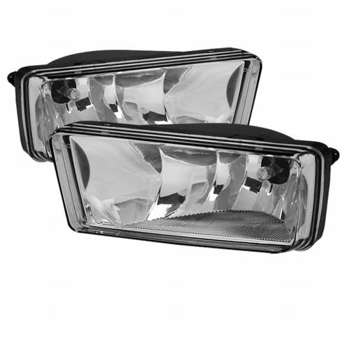 Spyder Chevy Silverado 07-13/Avalanche/Suburban OEM Fog Lights | wo/ switch Clear FL-CSIL07-C