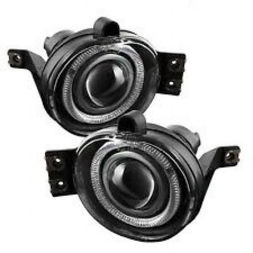 Spyder Chevy Silverado 1500/2500 99-02 Projector HeadLights | CCFL Halo LED Black Smoke FL-P-GD99-HL