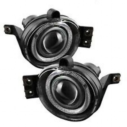 Spyder Chevy Silverado 1500/2500 99-02 Projector Headlights CCFL Halo LED Black Smoke FL-P-GD99-HL