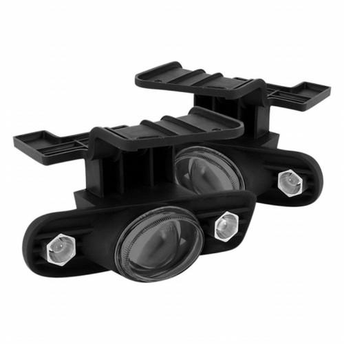 Spyder For Chevy Suburban 1500/2500 2000-2006 Halo Fog Light Projector w/ Switch | Smoke FL-P-CS99-HL-SM (TLX-spy5014672-CL360A70)