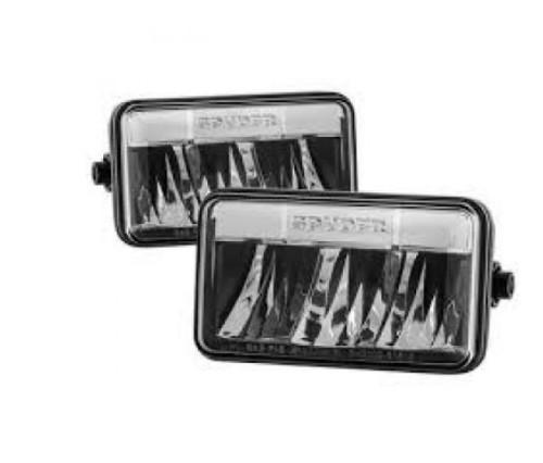 Spyder 15-17 Ford F150 OEM Fog Lights | w/Switch & Cover - Clear (FL-FF15015-C)
