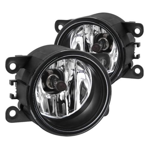 Spyder 17-18 Nissan Pathfinder OEM Fog Lights w/Switch - Clear (FL-NP2017-C)