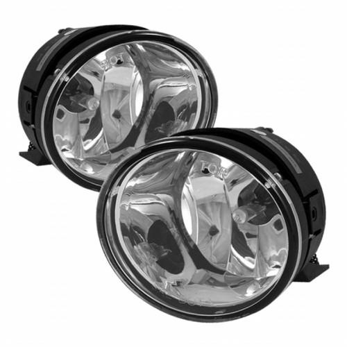 Spyder Nissan Titan 04-13/Nissan Armada 04-12 OE Style Fog Lights | w/ Switch Clear FL-WJ-NT04-C