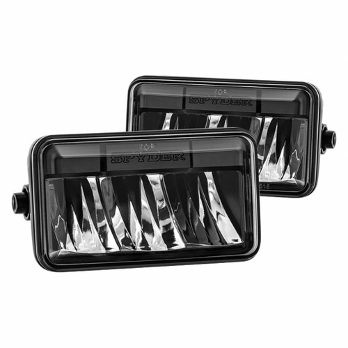 Spyder 15-16 Ford F-150 Fog Light - Black FL-YD-FF15015-LED-BK