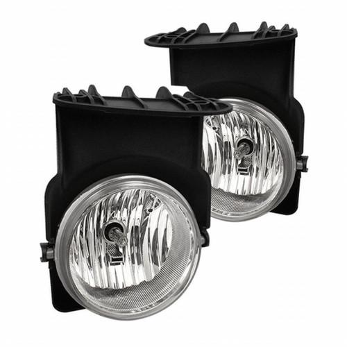 Spyder GMC Sierra 1500/2500 03-06/Sierra 1500HD/2500HD 03-06 OEM Fog Lights wo/switch Clear FL-GS03-C