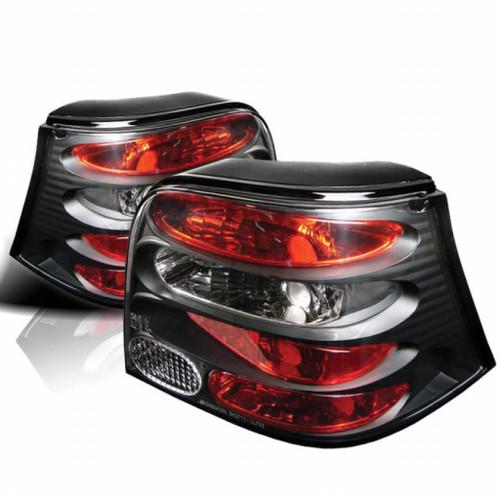 Spyder For Volkswagen Golf 99-04 Euro Style Tail Lights Black ALT-YD-VG99-BK   (TLX-spy5008343-CL360A70)