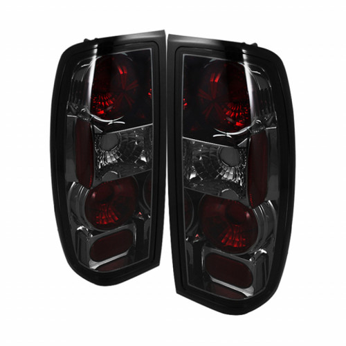 Spyder Nissan Frontier 98-00 Euro Style Tail Lights Smoke ALT-YD-NF98-SM