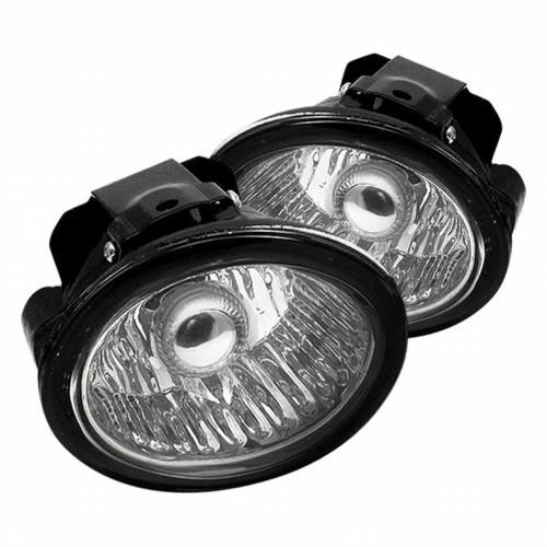 Spyder Nissan Altima 02-04/Murano 03-05/Infiniti FX35 FX45 03-06 OEM Fog Lights w/swch Clear FL-NA02