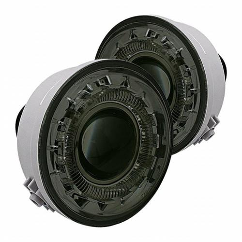 Spyder Ford F150 06-10 Halo Projector Fog Lights w/swch Smke FL-P-FF15006-HL-SM