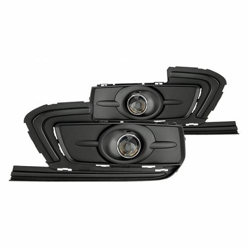 Spyder Chevy Cruze 2015-2016 OEM Fog Lights w/switch - Clear FL-CCRZ2015-C