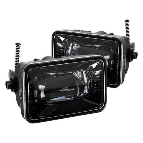 Spyder 15-18 Ford F-150 / 17-18 Ford F-250/F-350 Full LED Fog Lights - w/o Switch (FL-LED-PRO-4)