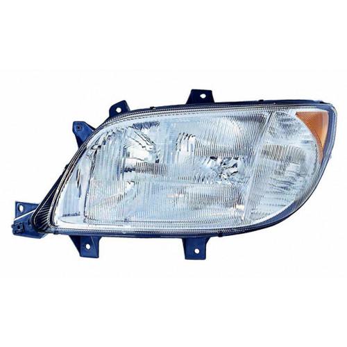 For FreightLiner Sprinter 03-06 Headlight Assembly w/ Foglight Passenger Side