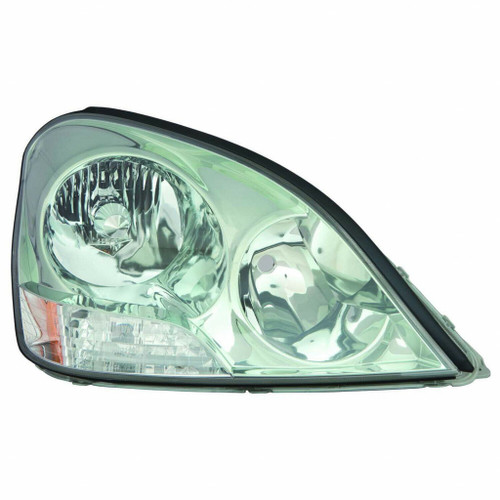 For Lexus L-S430 01-03 Headlight Assembly Unit Passenger w/o bulbs and ballast HID Type -  w/out bulbs and ballast - Replacement for LX2519105
