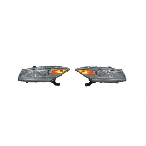 For Honda Accord Coupe 2008-2010 Headlight Assembly Unit  Pair Driver and Passenger Side